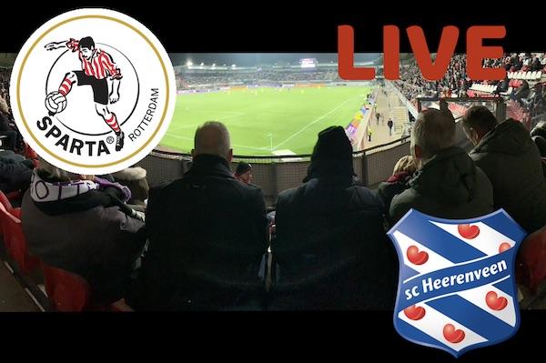 Sparta - SC Heerenveen LIVE topic