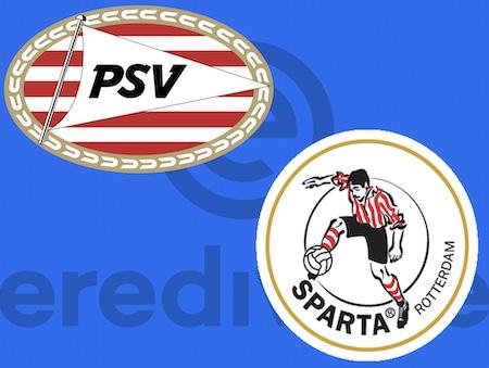 wedstrijdposter PSV - Sparta