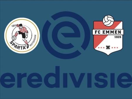 affiche van Sparta - FC Emmen