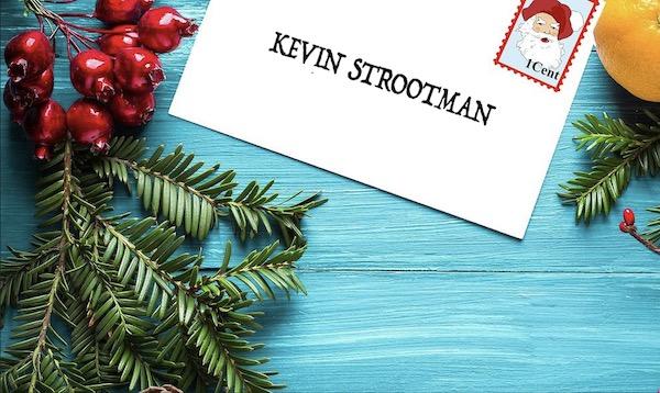 Kerstbrief voor Kevin Strootman