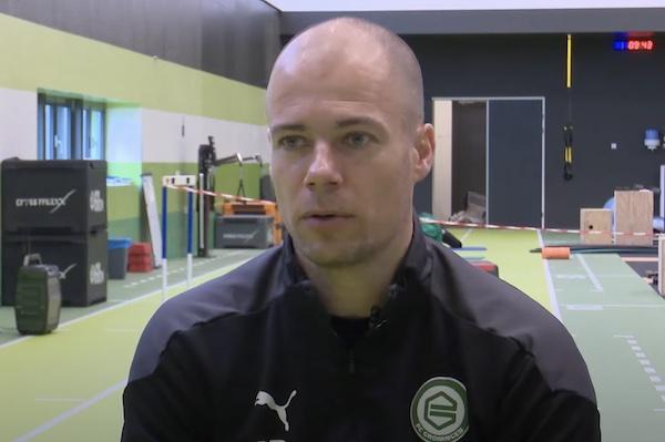 FC Groningen trainer Danny Buijs