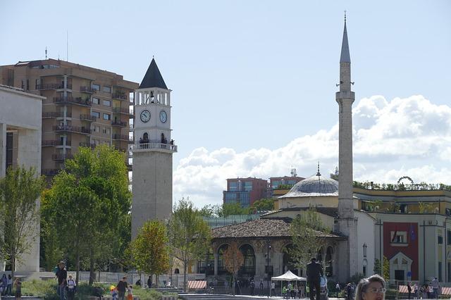 Klokkentoren Tirana