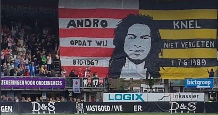 Sparta - NAC spandoek Andro Knel